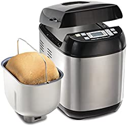 Hamilton Beach (29885) Bread Maker, 2 Lbs. Capacity, Stainless Steel