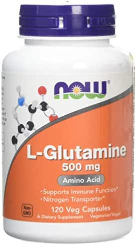 Now Foods, L-Glutamine 500mg, 120 Capsules