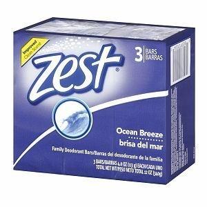 Zest Ocean Breeze Bar Soap 3 ct (Bar Breeze)