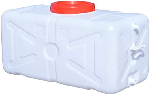 Water Canister Water Tank Plastic Canister With Valve White 15 L