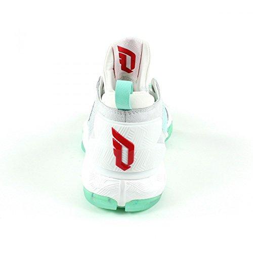 adidas D Lillard 2 PK, Scarpe da Basket Uomo Grigio (Gris (Grpulg / Rojray / Verhie))