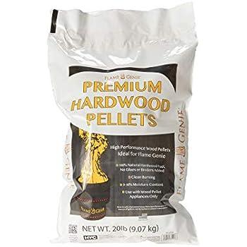 Amazon Com Hy C Fg P20 Premium Wood Pellets For Fire
