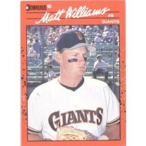 Matt Williams 1990 Donruss MLB Card #348 ()
