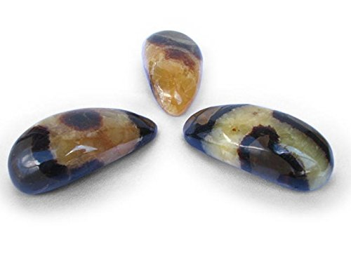 Madagascar Minerals Round Septarian Stone Massage Tool