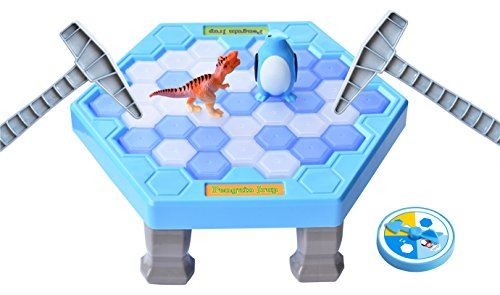 SPEAK FUN Penguin Trap Puzzle Table Games Balance Ice Cubes Icebreaking Games Save the Penguin Interactive Family Game