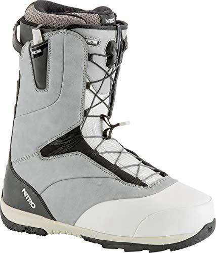 - Nitro Snowboards Venture TLS Boots, Men, Mens, 848449, Grey/White/Black, 320
