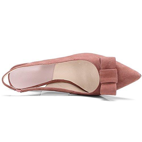 Nine SevenHeels - Zapatos con correa de tobillo mujer Rosa
