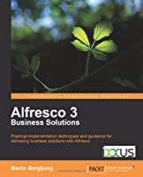 Alfresco 3 Business Solutions Front Cover