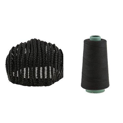 SM SunniMix Thread Cornrow Wig Cap For Making Wigs Adjustable Braided Wig Weave Sew Cap by SM SunniMix