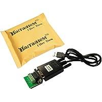 Baitaihem USB to RS485 USB-485 DB9 Serial Port COM Adapter Converter Cable CH340 Chip Support WindowsXP Vista Windows 7/8 and 64-bit Win7 Win10