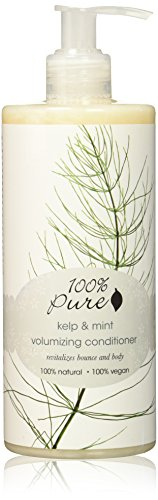 100% Pure Kelp and Mint Volumizing Conditioner, 13.0 Fluid Ounce