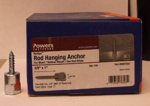 Powers Fasteners Vertigo 3/8'' X 1'' Rod Hanging Anchor