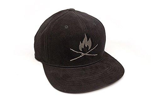 Corduroy Hat - Sticks & Fire - Men's/Unisex Corduroy Hat - Adjustable ()