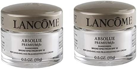 New! Lot 2 x Absolue Premium Bx SPF 15 Replenishing and Rejuvenating Day Cream, 0.5 oz each