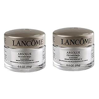New! Lot 2 x Absolue Premium Bx SPF 15 Replenishing and Rejuvenating Day Cream, 0.5 oz each