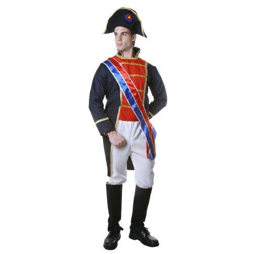 Dress Up America Adult Napoleon, Multi-Colored, Large