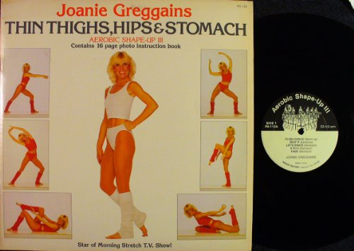 Contains Instructions (Thin Thighs, Hips & Stomach; Aerobic Shape-up III; contains 16 pg photo instruction book)
