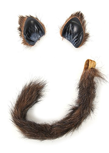 elope Cat/Fox Ears and Tail Set (Barf Spaceballs Costume)