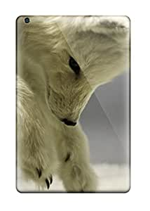 Defender Case With Nice Appearance (arctic Foxes ) For Ipad Mini/mini 2