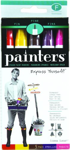 elmers-painters-opaque-paint-markers-5-set-craft-colors-fine-point-wa7521