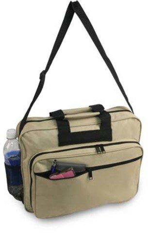 DD Briefcase Portfolio- Light Tan 600denier Polyester(pack Of 12)