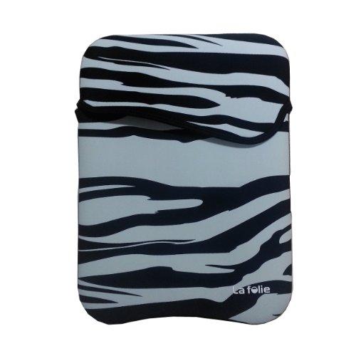 Wacta 13-inch Reversible Zebra Stripes Sleeve Fits 13-inch MacBook Pro, MacBook Air and 13.3-inch Ultrabooks