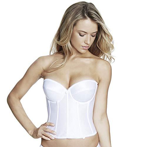 Dominique Brasselette Low Back Bra (7750) 40DD/White ()