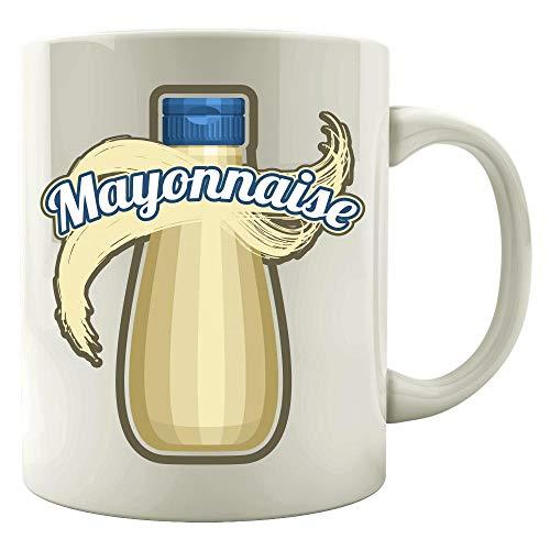 Mayonnaise Condiment Easy Trio halloween Costume Tshirt - Colored Mug -