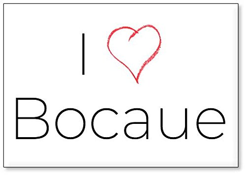 I Love Bocaue, fridge magnet