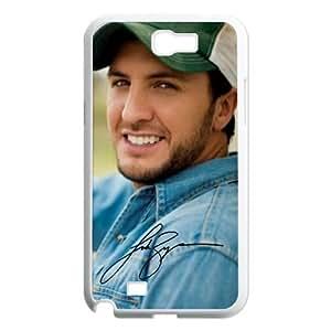 Custom Luke Bryan Hard Back Cover Case for Samsung Galaxy Note 2 NT55