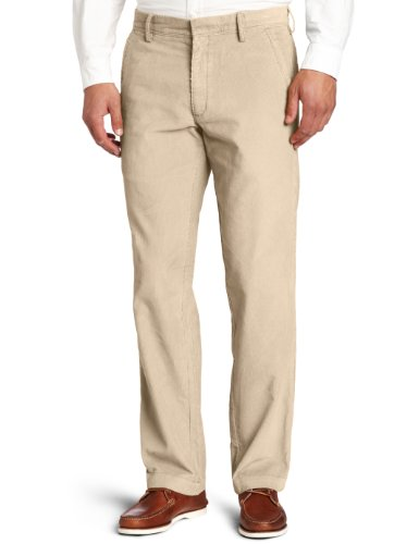 Plain Front Chino Pants - 1