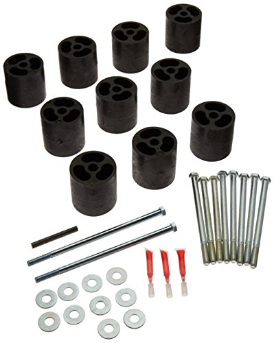Performance Accessories, Ford Bronco Gas 3″ Body Lift Kit, fits 1978 to 1986, PA733, Made in America