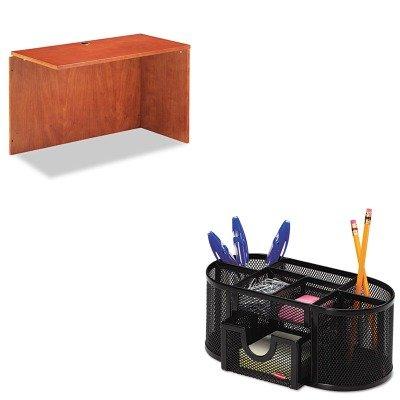 KITALERN234824CMROL1746466 - Value Kit - Best Verona Veneer Reversible Return Shell (ALERN234824CM) and Rolodex Mesh Pencil Cup Organizer (ROL1746466) by Best