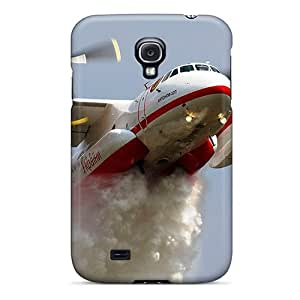 New Arrival Cover Case With Nice Design For Galaxy S4- Firefighter Airplane In Action