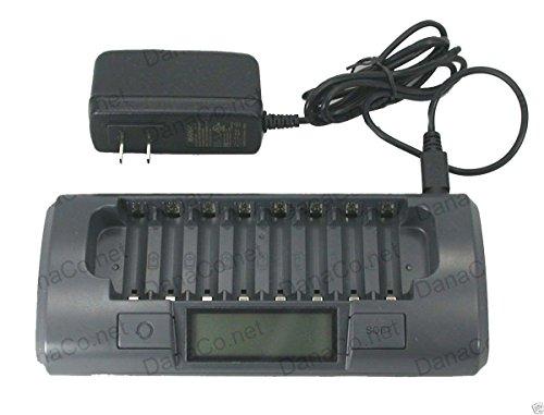MH-C800S 8 Cell Smart Battery Charger AA AAA NiMH NiCd PowerEx Maha Energy