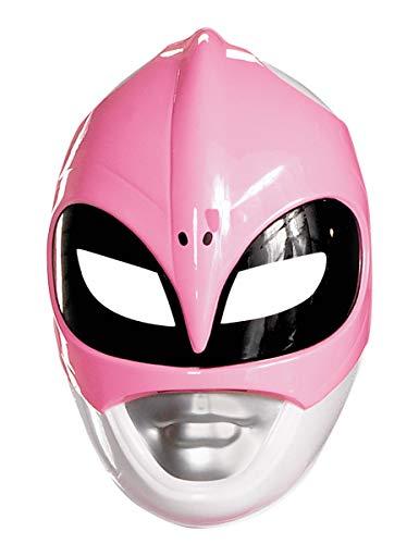 Pink Ranger Vacuform Mask Costume Mask -