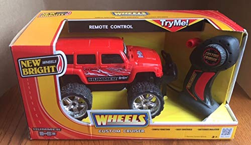 New Bright Wheel Remote Control Hummer H3 Custom Cruiser
