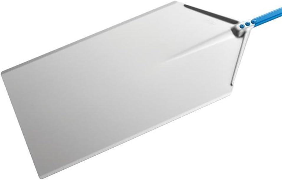 Pala pizza a metro di GiMetal in alluminio anodizzato 30x60 cm con manico 1.20 mt diametro 30x60 cm