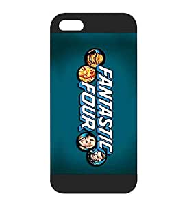 Macthlome (TM) Iphone 5 / 5s Fundas Case [Fantastic Four] Film Quotes Theme - Iphone 5 / 5s Hard Fundas Cases and Covers for Women