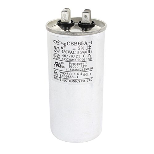 Uxcell a14071900ux0100 Conditioner Capacitor CBB65A 1 product image