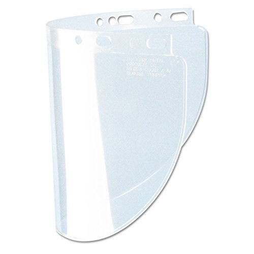 Fibre-Metal 280-4118CL High Performance Faceshield Windows, Clear, Standard, 11 1/4