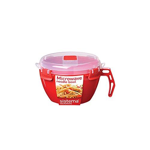 Sistema Microwave Noodle Bowl 940 ml, 32 oz (Microwave Instructions Bowl Pasta)