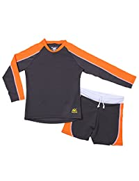 Nozone Laguna Sun Protective Boy's Two Piece Swimsuit - UPF 50+