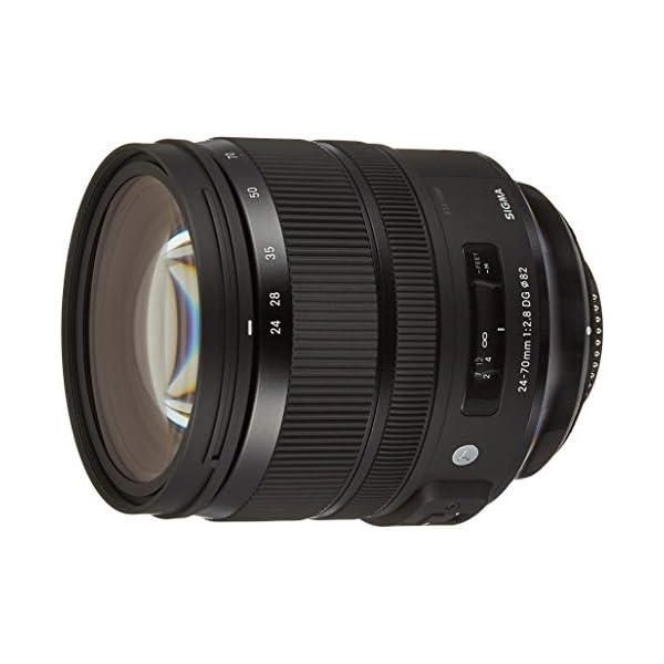 RetinaPix Sigma 24-70mm f/2.8 DG OS HSM Art Lens for Nikon DSLR Camera-Black