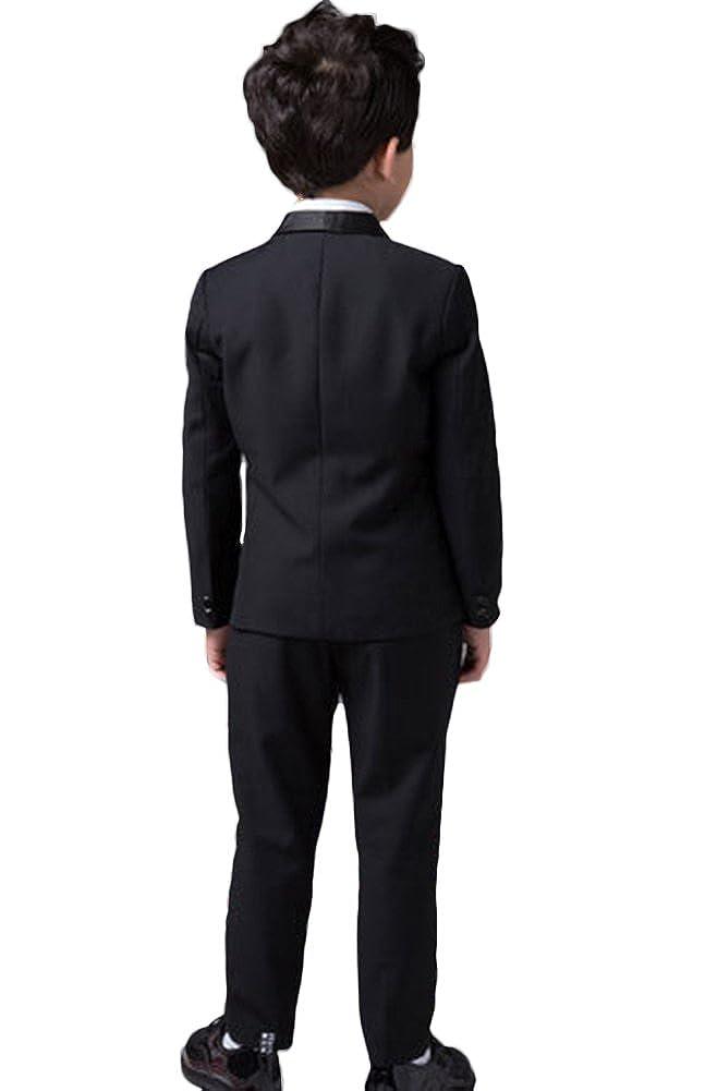 Amazon.com: ICEGREY Boys Boys Formal Dress Suit Set with Bow Tie Black: Clothing
