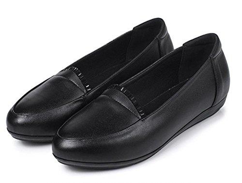 Ms Spring ascensor zapatos de la boca baja pendiente de diamantes con escoge los zapatos zapatos zapatos de tacón bajo los zapatos del pie redondo establece , US6.5-7 / EU37 / UK4.5-5 / CN37