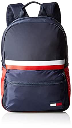 Tommy Hilfiger Men's Sport Signature Tape Dome Backpack Sport Signature Tape Dome Backpack, Corporate, One Size
