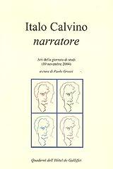 ITALO CALVINO NARRATORE (Cahiers de l'Hôtel de Galliffet) (French Edition) Paperback