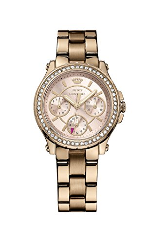 Juicy Couture - Wristwatch, Analog Quartz, oro rosa