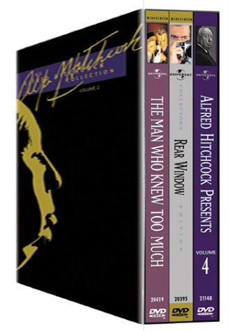 The Alfred Hitchcock Collection, Vol. 2 (Rear Window / The Man Who Knew Too Much (1956) / Alfred Hitchcock Presents Vol. (The Man Who Knew Too Much Dvd)